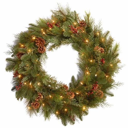 National Tree Co. Noble Indoor/Outdoor Christmas Wreath