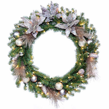 jcpenney.com | National Tree Co Metallic Indoor/Outdoor Christmas Wreath