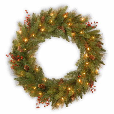 jcpenney.com | National Tree Co Long Needle Pine Indoor/Outdoor Christmas Wreath