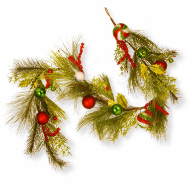 jcpenney.com | National Tree Co Mixed Ornament Evergreen Christmas Garland