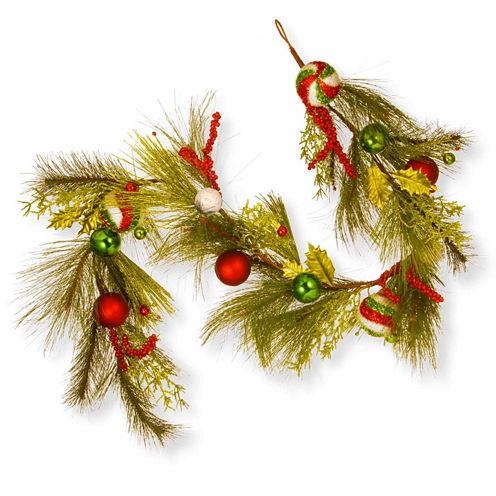 National Tree Co. Mixed Ornament Evergreen Christmas Garland