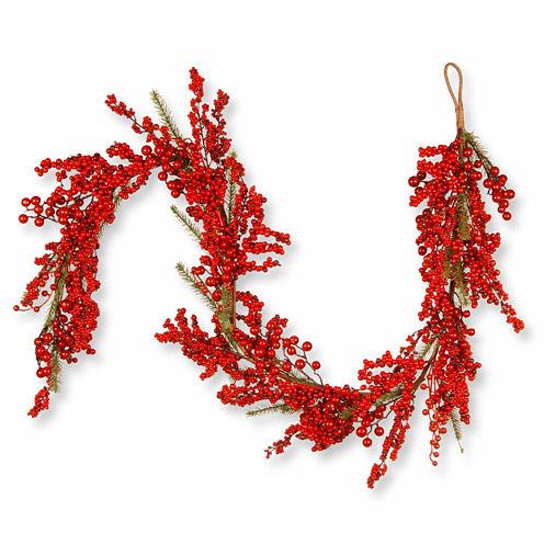 National Tree Co. Berry Christmas Garland