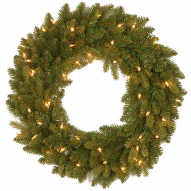 jcpenney.com | National Tree Co Avalon Spruce Feel Real Indoor/Outdoor Christmas Wreath