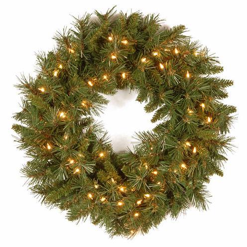 National Tree Co. Tiffany Fir Indoor/Outdoor Christmas Wreath