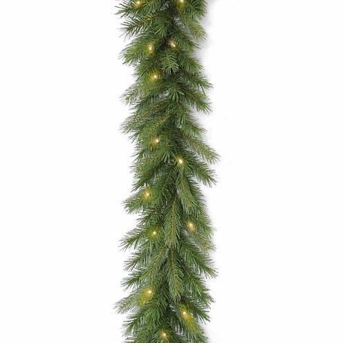 National Tree Co. Deerfield Fir Feel Real Christmas Garland