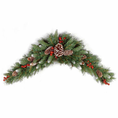 jcpenney.com | National Tree Co Frosted Berry Crescent Holiday Yard Art