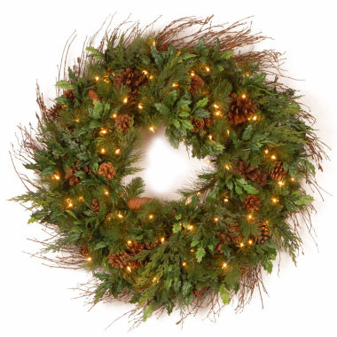 jcpenney.com | National Tree Co Juniper Mix Pine Indoor/Outdoor Christmas Wreath