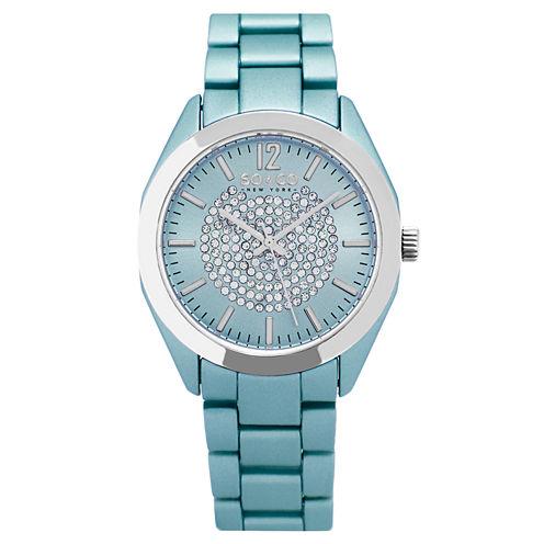So & Co Womens Blue Bracelet Watch-Jp15890