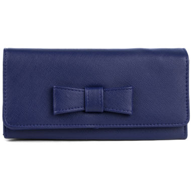jcpenney.com | Mundi File Master Saffiano Bow Wallet