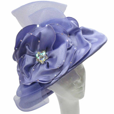 jcpenney.com | Whittall & Shon Derby Hat Lg Brim W Embroidered Crown And Edge