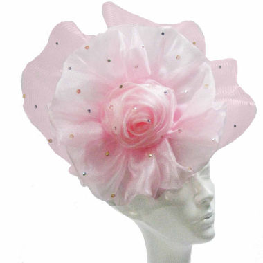 jcpenney.com | Whittall & Shon Derby Hat Fascinator W Flower And Fan