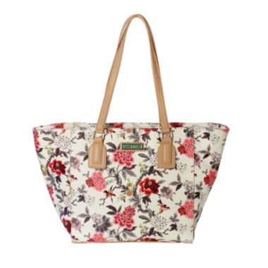 jcpenney.com | Waverly Bird Floral Large Tote Bag