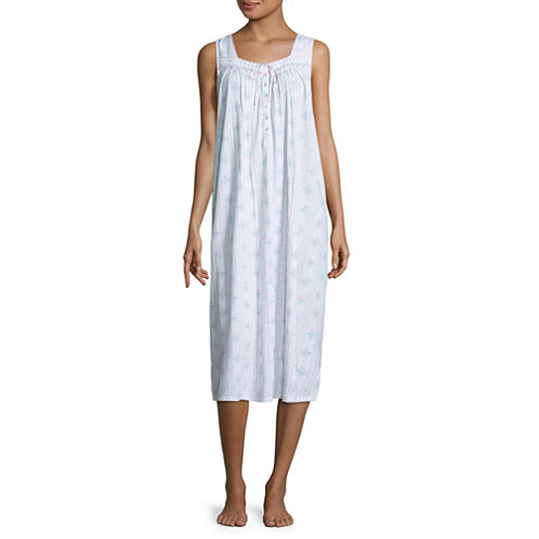 Adonna Jersey Sleeveless Long Nightgown