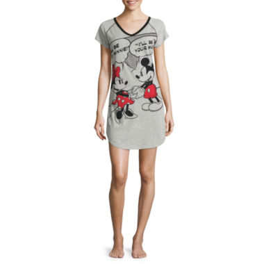 jcpenney.com | Disney Jersey Short Sleeve Nightshirt-Juniors