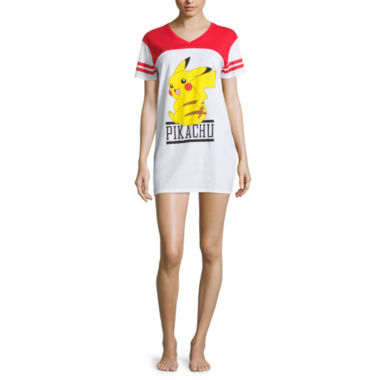 jcpenney.com | Pokemon Cotton Blend Short Sleeve Nightshirt-Juniors