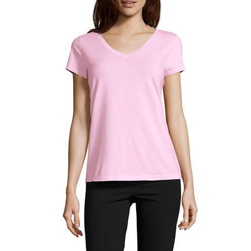 Liz Claiborne Short Sleeve Pajama Top
