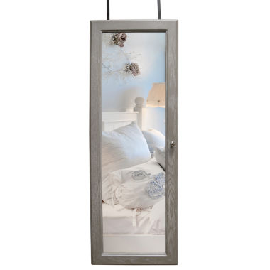 jcpenney.com | Gray Over the Door Jewelry Armoire
