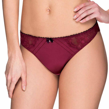 jcpenney.com | Marie Meili Penelope Thong Panty