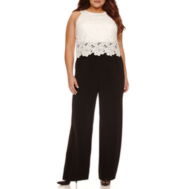 jcpenney.com | Melrose Sleeveless Jumpsuit-Plus