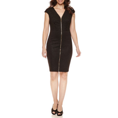 jcpenney.com | Melrose Short Sleeve Sheath Dress