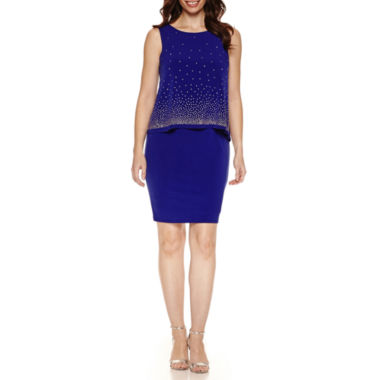 jcpenney.com | Jessica Howard Sleeveless Sheath Dress
