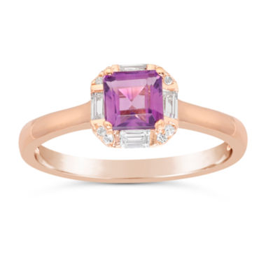jcpenney.com | Womens Purple Amethyst Gold Over Silver