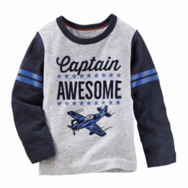 jcpenney.com | Oshkosh Boys Long Sleeve T-Shirt-Toddler