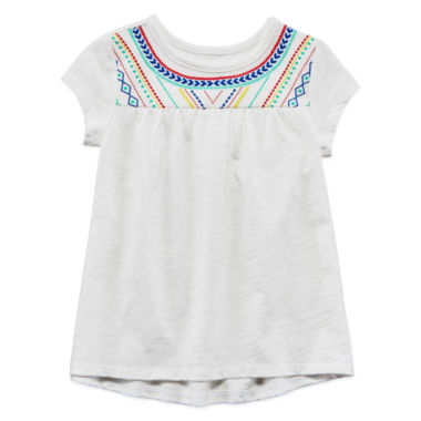 jcpenney.com | Arizona Short Sleeve Blouse - Toddler Girls