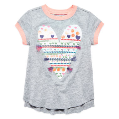 jcpenney.com | Arizona Short Sleeve T-Shirt-Preschool Girls
