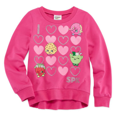 jcpenney.com | Shopkins Long Sleeve Sweatshirt - Big Kid