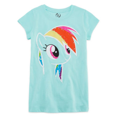 jcpenney.com | My Little Pony Short Sleeve My Little Pony T-Shirt-Big Kid Girls