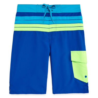 jcpenney.com | Arizona Boys Solid Swim Trunks-Big Kid