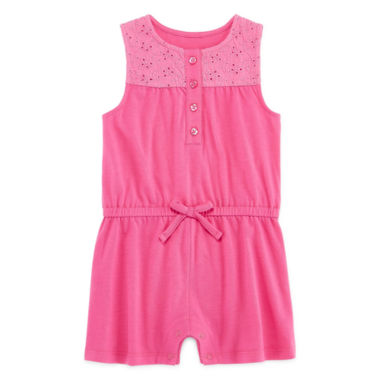 jcpenney.com | Arizona Short Sleeve Romper - Baby