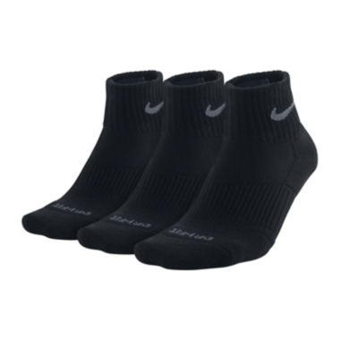 jcpenney.com | Nike® 3-pk. Dri-FIT Quarter Socks