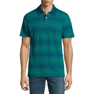 jcpenney.com | Arizona Stripe Jersey Polo Shirt