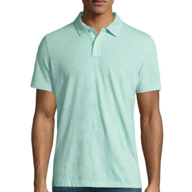 jcpenney.com | Arizona Short Sleeve Solid Jersey Polo Shirt