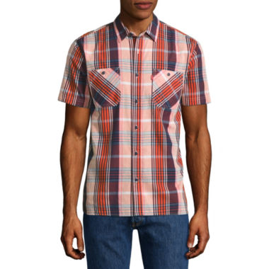 jcpenney.com | Levi's® Nasher Short Sleeve Button Up Shirt