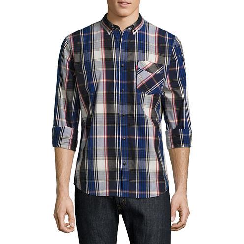 Levi's® Long Sleeve Woven Shirt Flume