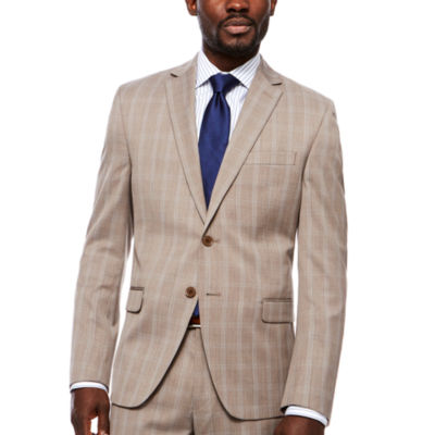 Collection by Michael Strahan  Classic Fit Plaid Suit Jacket