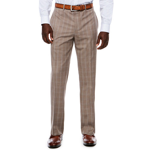 Collection by Michael Strahan  Classic Fit Woven Plaid Suit Pants