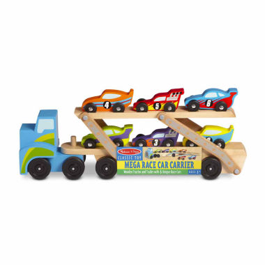 jcpenney.com | Melissa & Doug Mega Race-Car Carrier