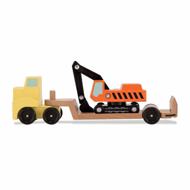 jcpenney.com | Melissa & Doug Trailer And Excavator