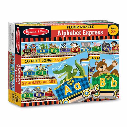 Melissa & Doug® Alphabet Express Floor Puzzle (27pc)