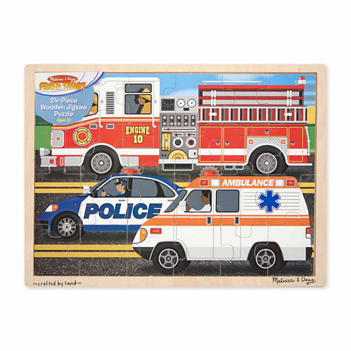 Melissa & Doug® To The Rescue! Jigsaw 24pc