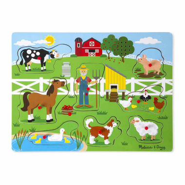 jcpenney.com | Melissa & Doug Old MacDonald's Farm Sound Puzzle