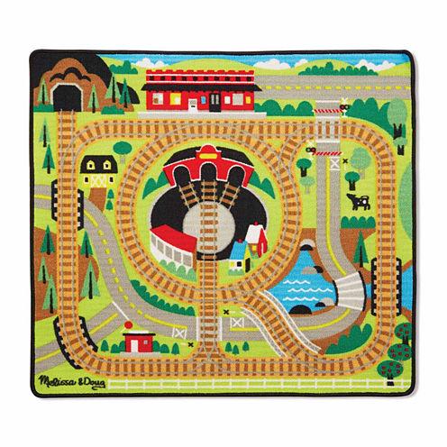 Melissa & Doug® Round the Rails Train Rug