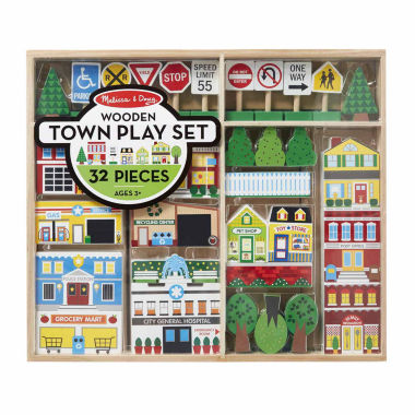 jcpenney.com | Melissa & Doug Wooden Town Play Set