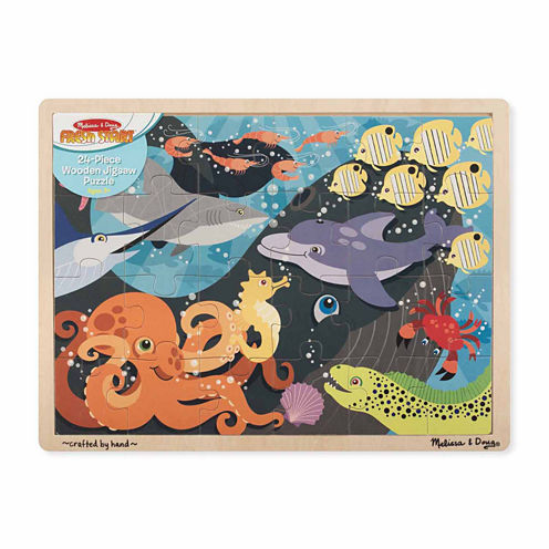 Melissa And Doug  Endangered Species Floor Puzzle 48-Pc.