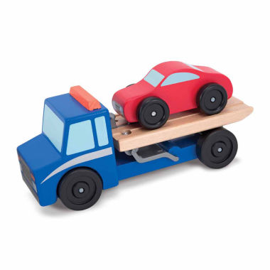 jcpenney.com | Melissa And Doug 2-pc. Flatbed Tow Truck