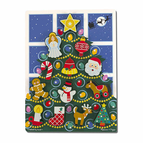 Melissa & Doug® Holiday Tree Chunky Puzzle